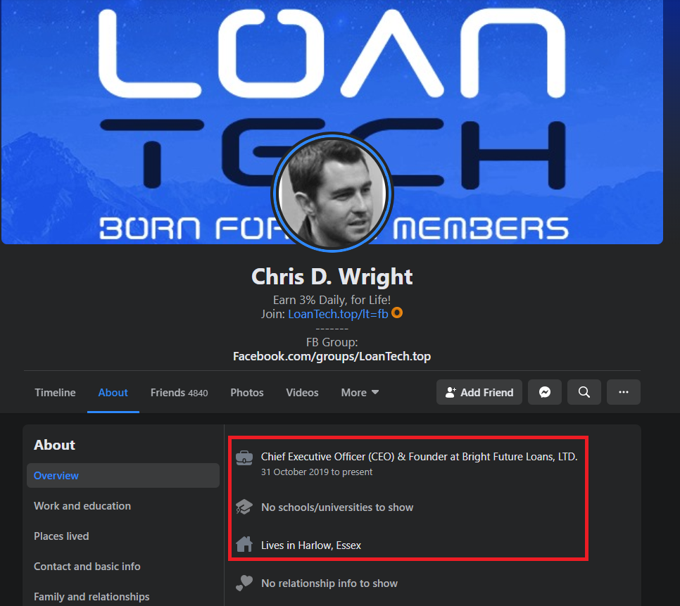 chris wright bright future loans scam 3