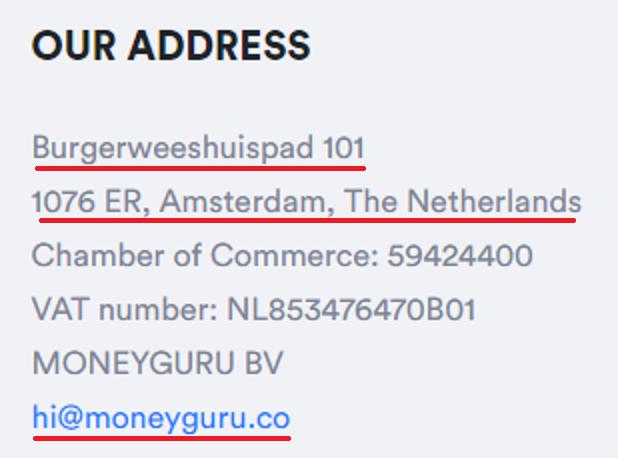 moneyguru contact details