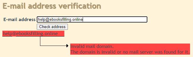 ebooksfilling job scam fake email address