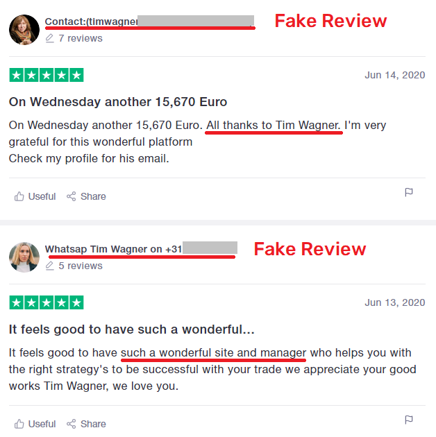 CoinMagnet247 scam fake trustpilot review 2