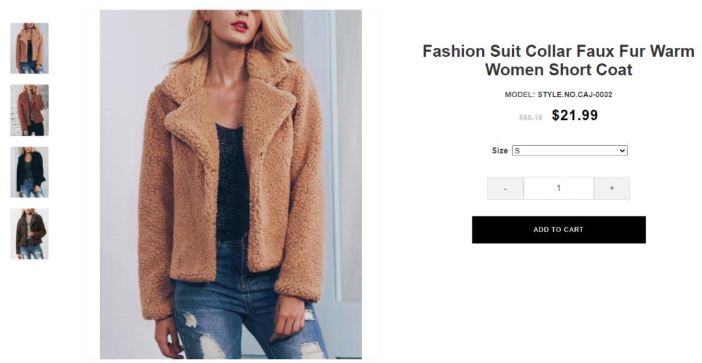 rosoutlets scam fur jacket 1