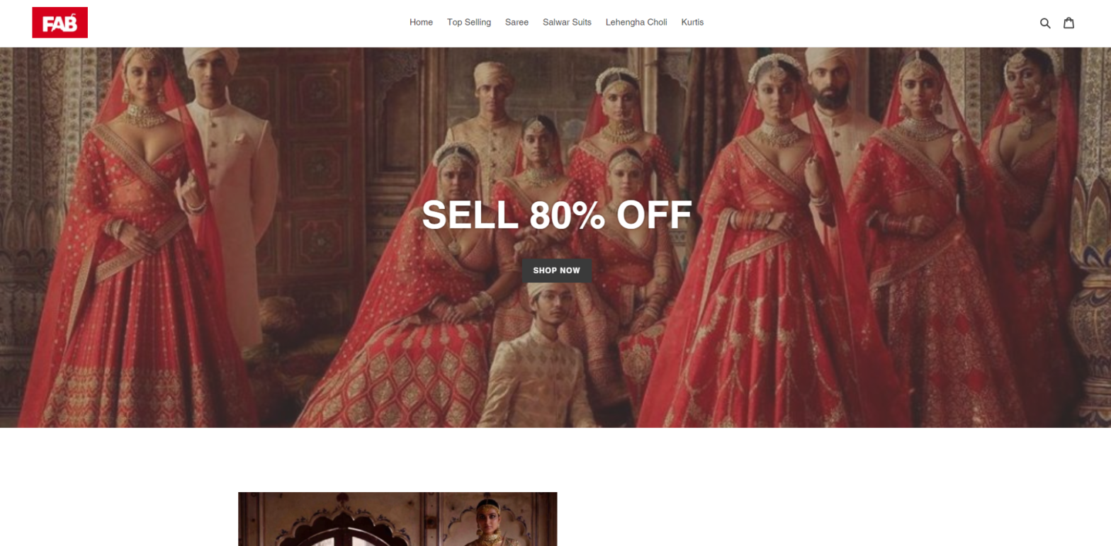 fabzara scam home page