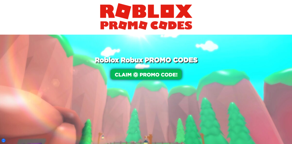 robloxland.xyz scam home page
