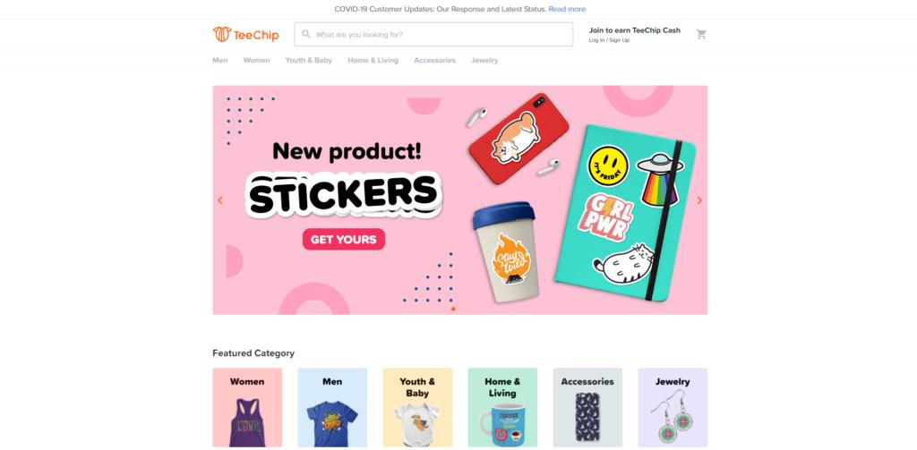 teechip home page