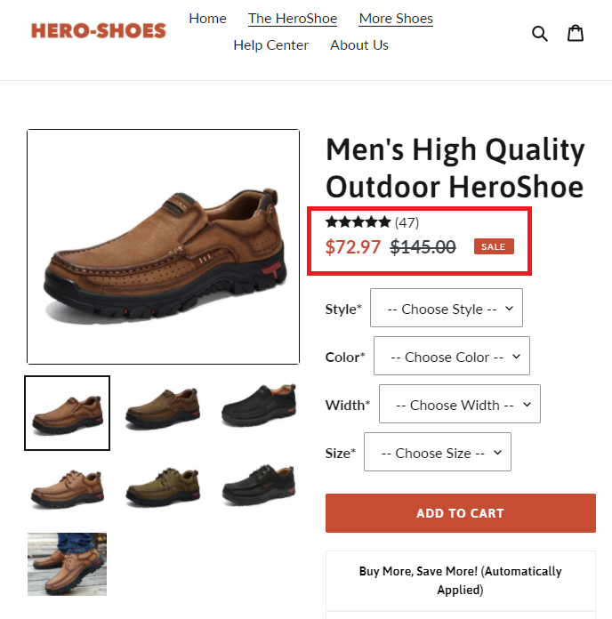 hero-shoes scam outdoor