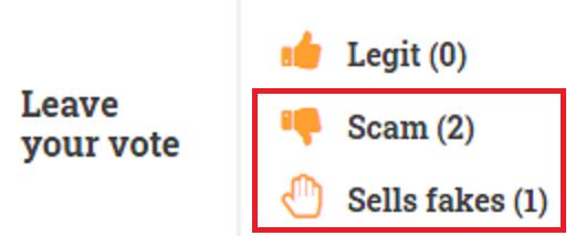 fabzara scam scamadviser votes
