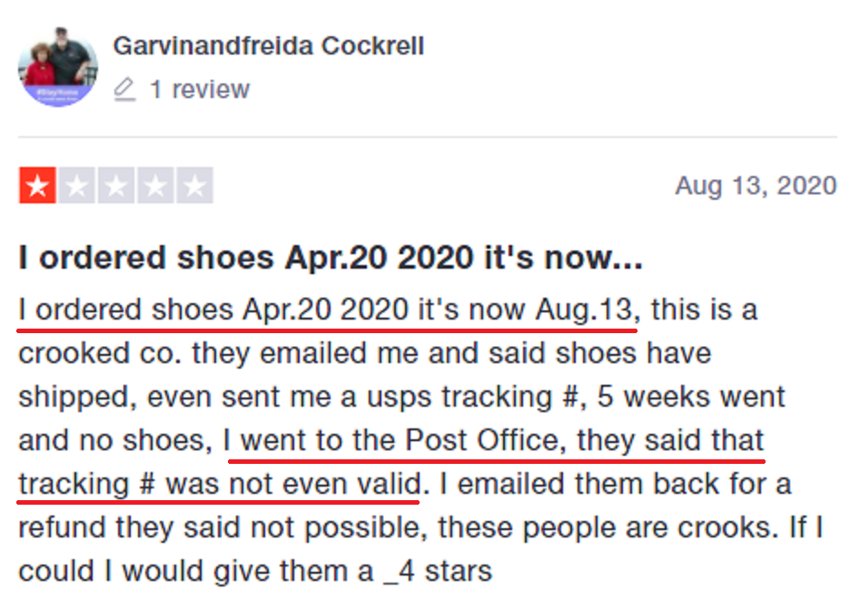 hero-shoes scam review trustpilot 5