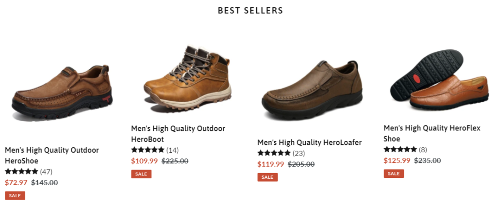 hero-shoes scam best sellers