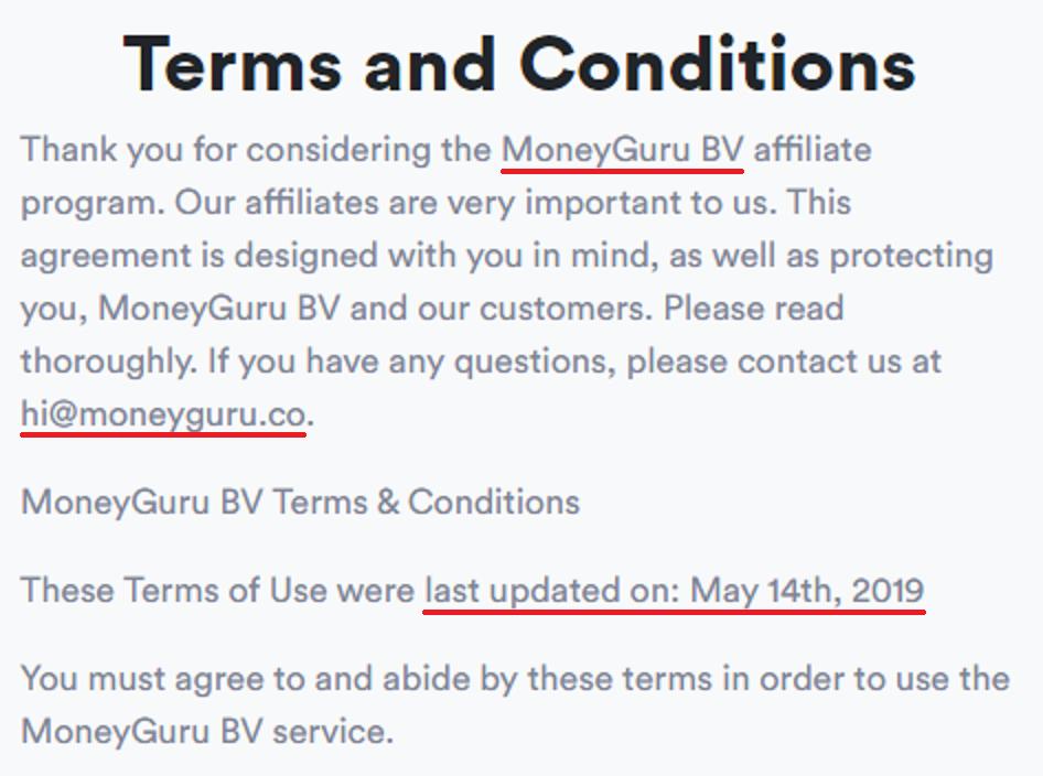moneyguru scam terms 1