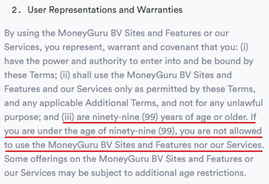 moneyguru scam terms 2