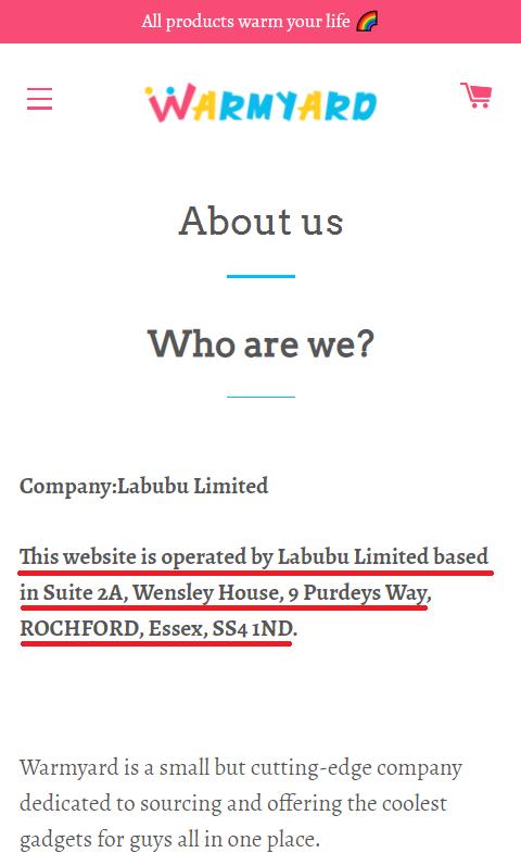 warmyard scam about us labubu scam network