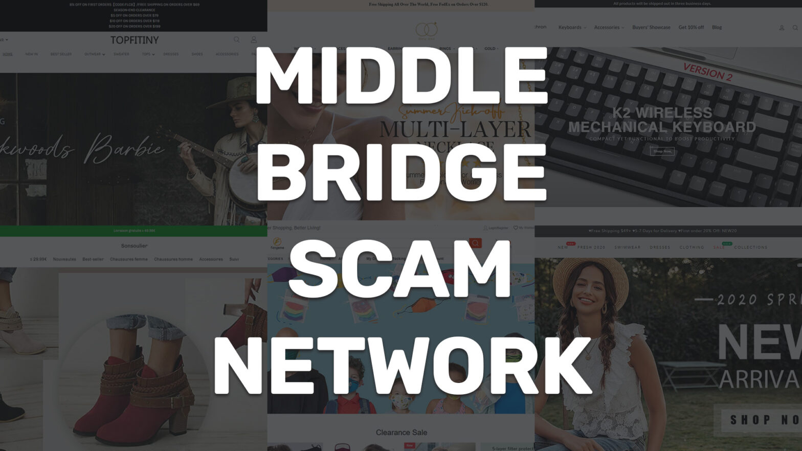 Middle Bridge Limited scam network collage