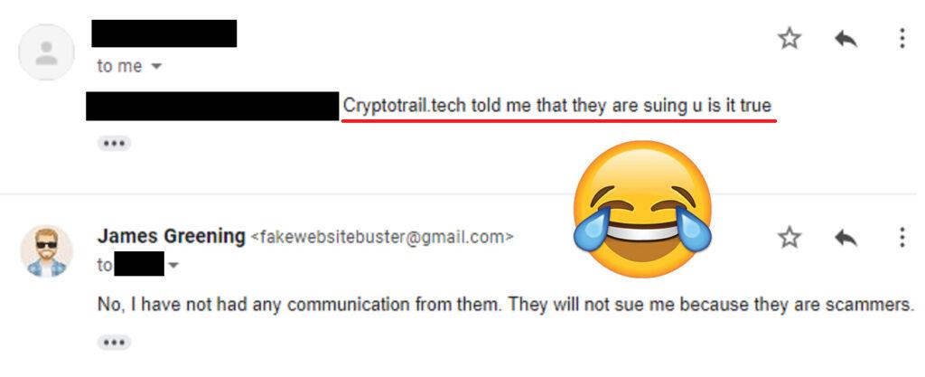 crypto trail tech scam bluff