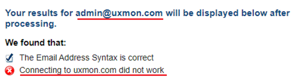 uxmon fake email id