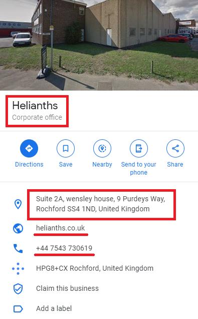 helianths labubu limited google listing
