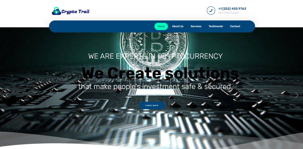 crypto trail tech home page