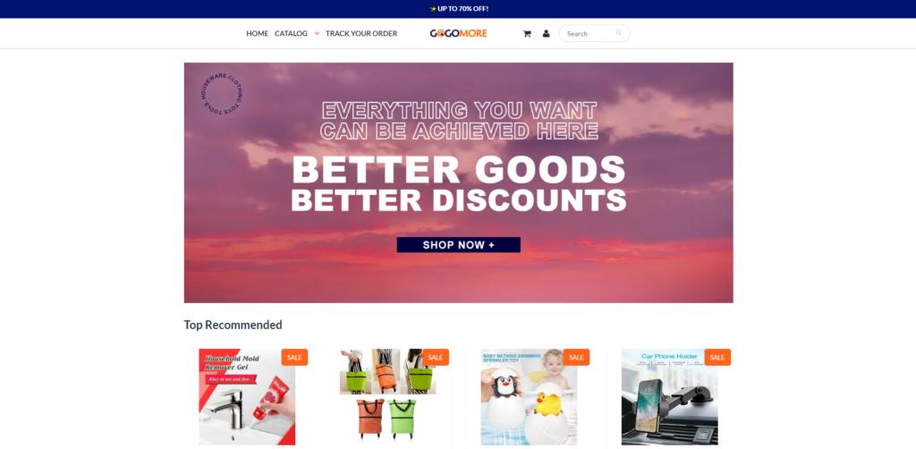 gogomore scam home page labubu scam network