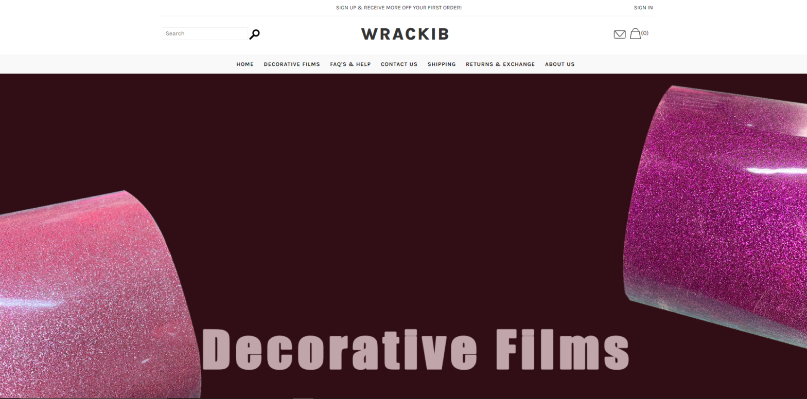 wrackib scam home page