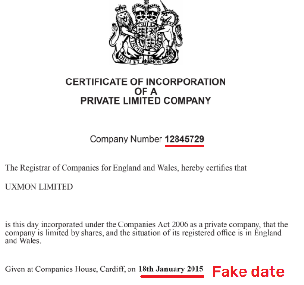uxmon scam fake registration