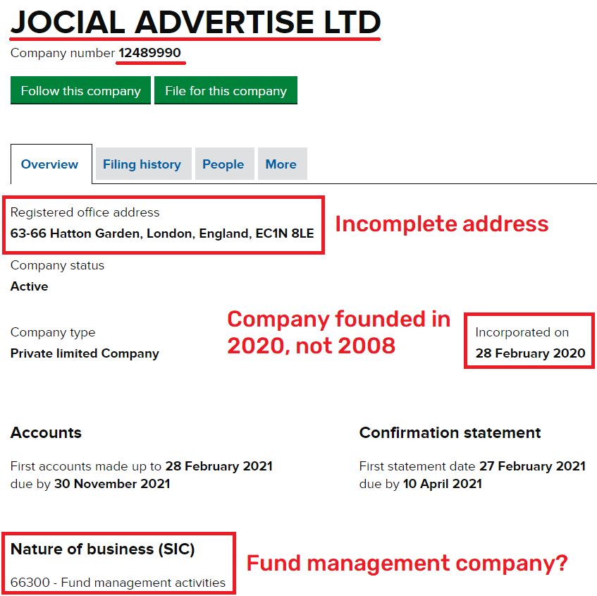 jocial scam uk registration 1
