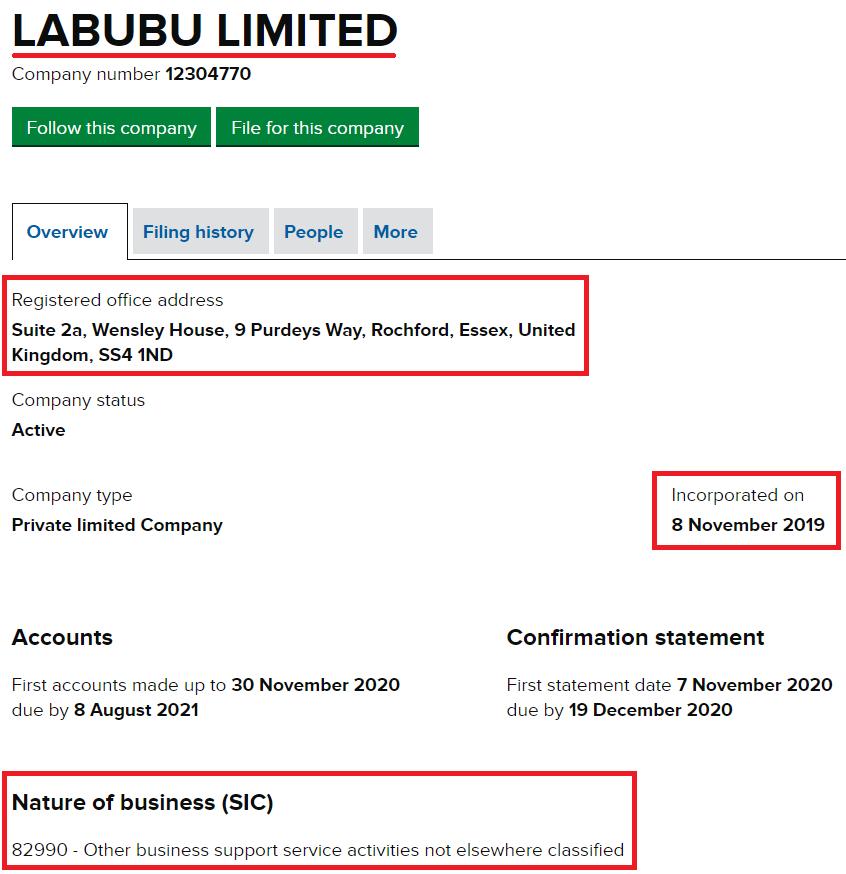 labubu limited uk registration 1
