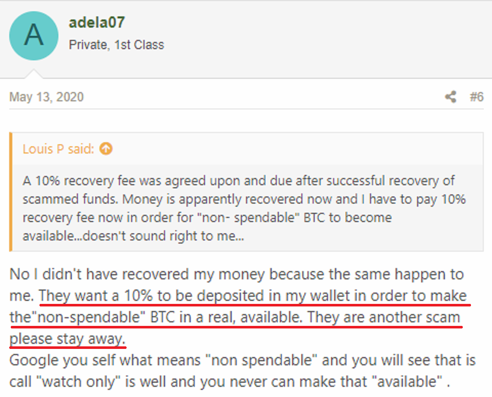 QuickRecoveryAdvocate & FinanceAssetRecovery scam review 2