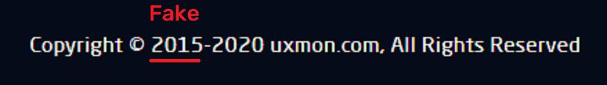 uxmon scam fake running days 2