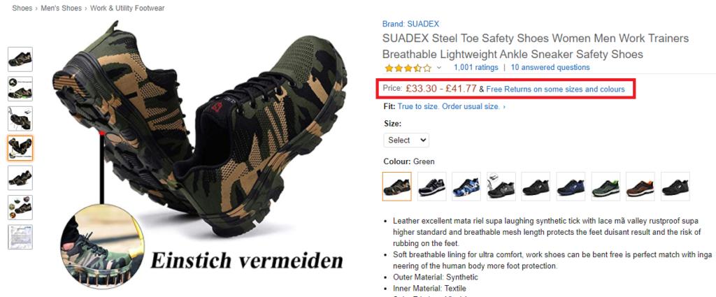 tactical shoes original