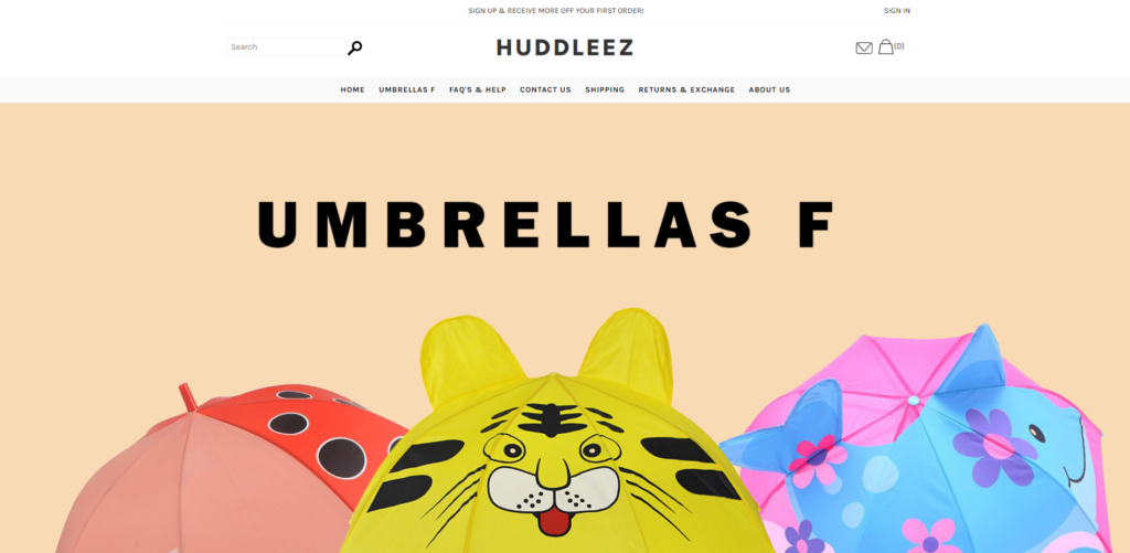 huddleez scam home page