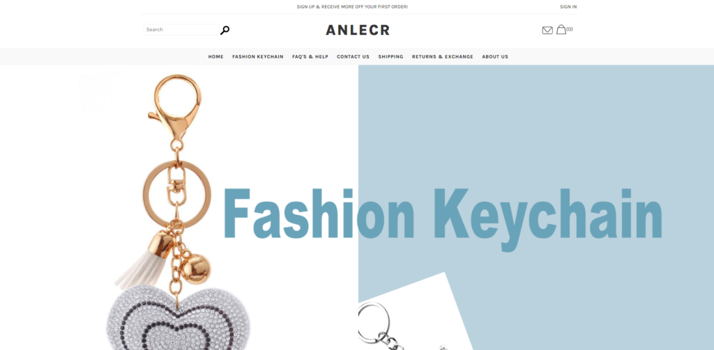anlecr scam home page