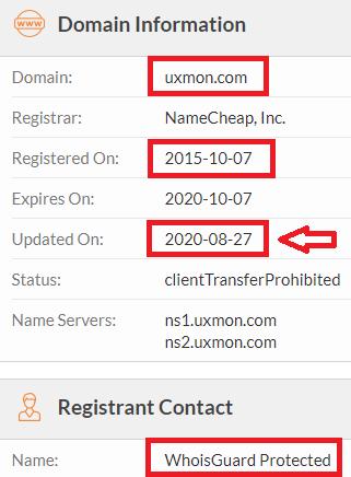 uxmon scam whois