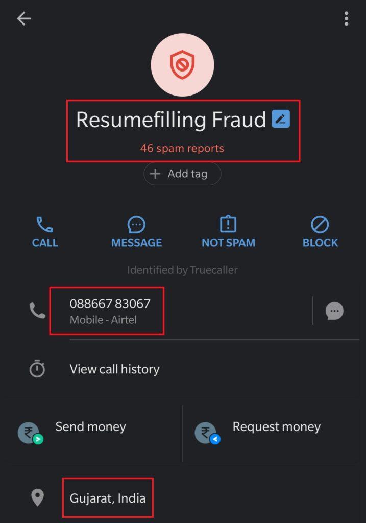 truecaller fraud 1
