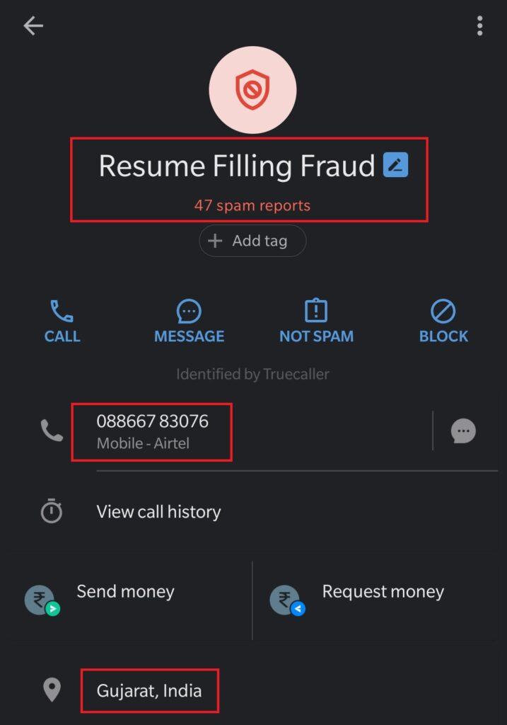 truecaller fraud 2