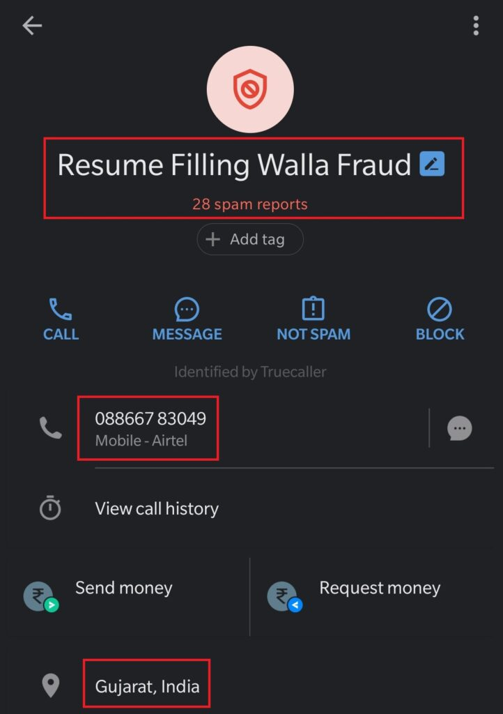 truecaller fraud 3