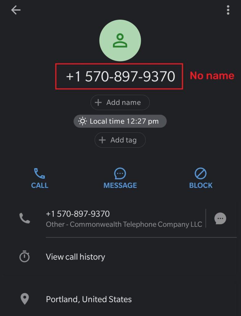 easytypingjob scam fake phone number 1
