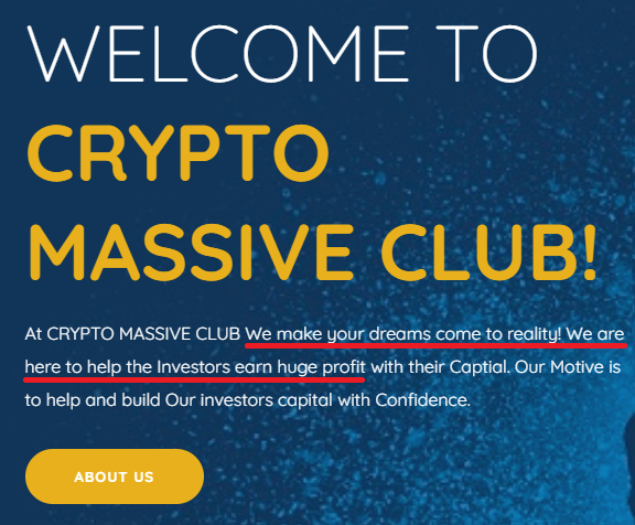crypto massive club scam copied content 1