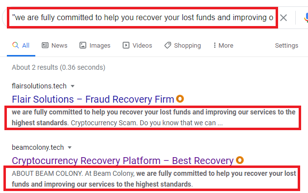 copied content google search 1