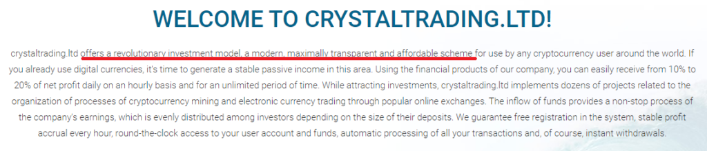 crystal trading scam copied content 1