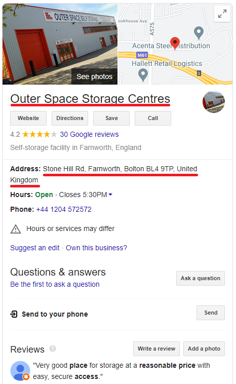 outer space storage centers uk 1