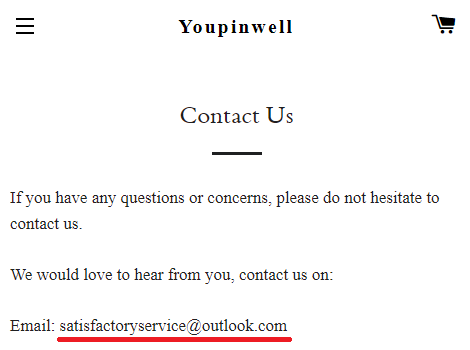 youpinwell scam contact us