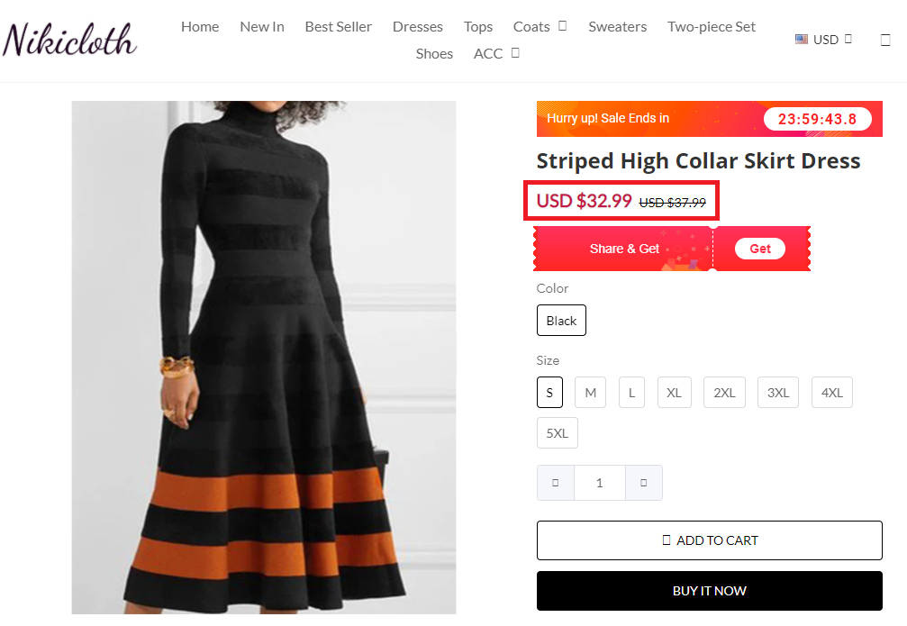 nikicloth scam dress 1