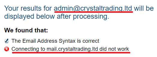crystal trading scam fake email