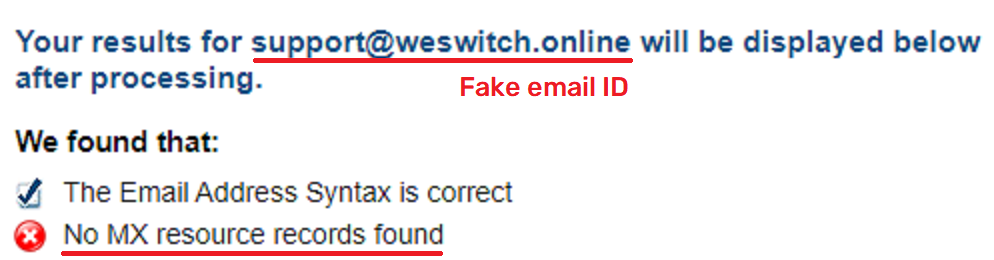 switchonlines scam fake email