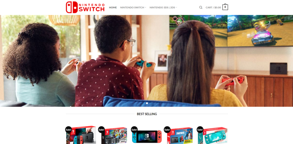 switchonlines scam home page