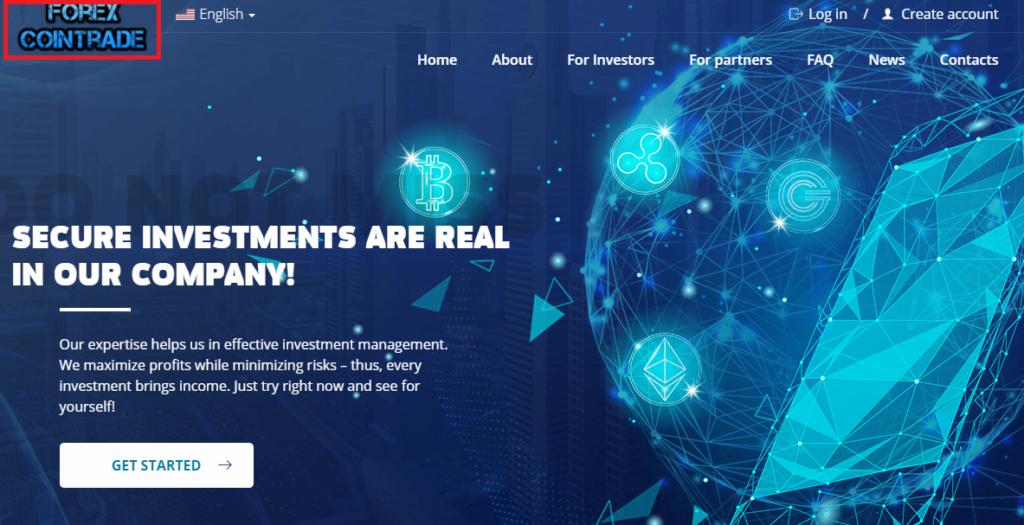 forex-cointrade scam copied website