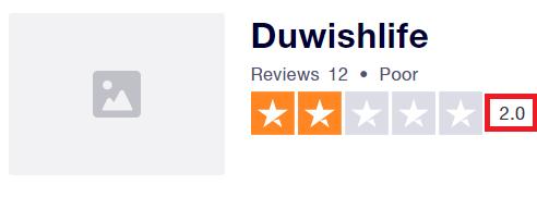 duwishlife scam trustpilot rating