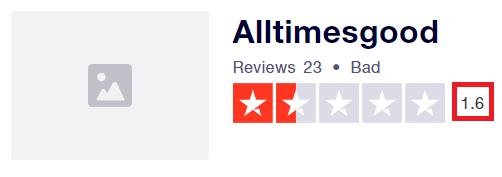 alltimesgood scam trustpilot rating
