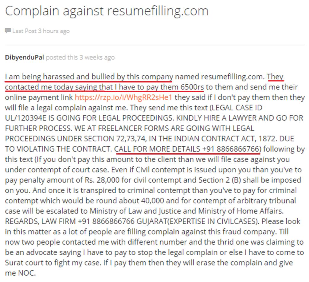resumefilling fraud review 3