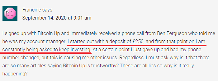 bitcoinup scam review 1