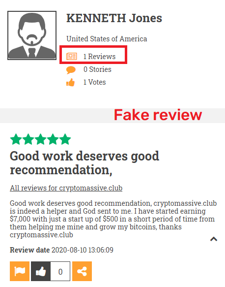 cryptomassive club scam fake review 2